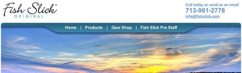 Website Redesign for Fish Slick